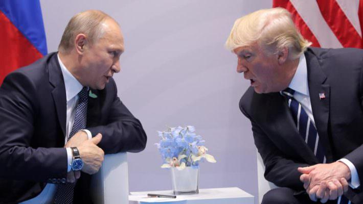 Donald Trump e Vladimir Putin a Palermo: ipotesi presenza leader americano e russo a conferenza sulla Libia
