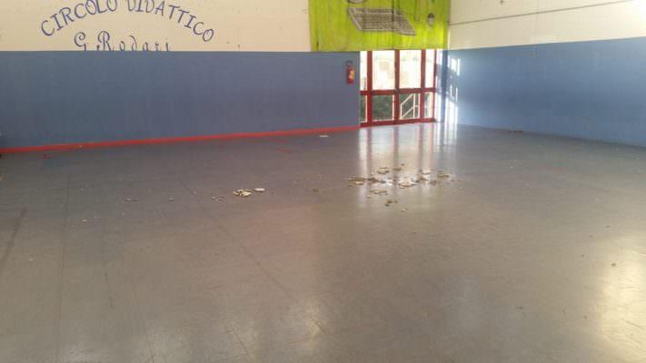 Scuola Rodari di Gravina di Catania, nessun tetto crollato: arrivano le delucidazioni dal Comune – FOTO