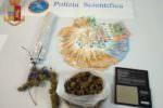 Oltre 170 grammi di cannabis e 2.300 euro in contanti: in manette 36enne