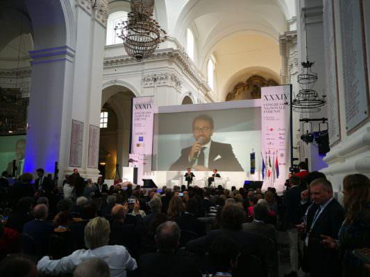 """34° Congresso Nazionale Forense, ministro Bonafede : """"Serve una semplificazione delle leggi e dei processi"""""""
