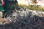 Sorpresi a rubare cavi di rame in magazzino dell'ex Mercatone Uno, arrestati due pregiudicati