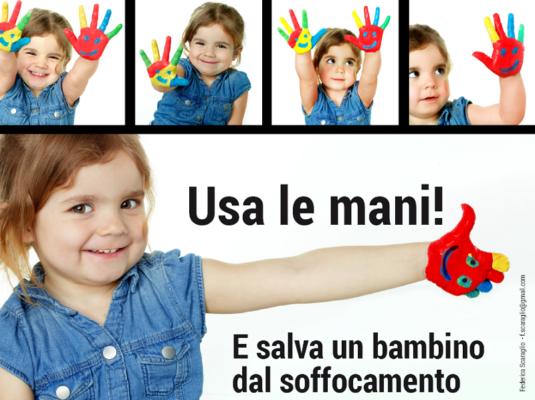 """""""Una manovra per la vita"""": in piazza a Catania si impara a salvare i bambini dal soffocamento"""