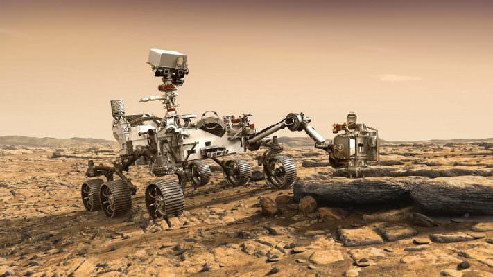 """Reso pubblico il progetto del rover """"Curiosity"""""""