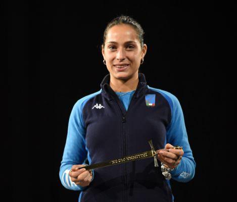 Coppa del Mondo di spada femminile: la catanese Alberta Santuccio conquista il terzo gradino del podio