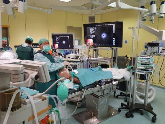 Nuove procedure al Cannizzaro: biopsia immediata del tessuto polmonare