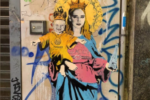 """""""Santa Chiara Ferragni"""" a Milano, spunta un murales: ironia e polemiche a riguardo"""