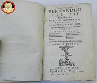 Palermo, restituito libro risalente al XVI sec. rubato all'inizio degli anni '80
