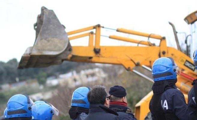 Parco dell'Etna, demolito immobile abusivo: era stato costruito senza alcuna autorizzazione