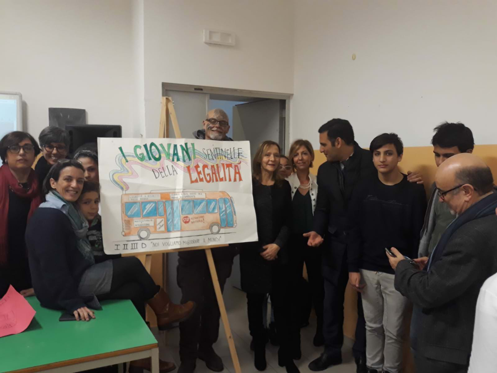 """Onestà e spirito civico: l'I. C. Fontanarossa protagonista del progetto """"Sentinelle di legalità"""""""