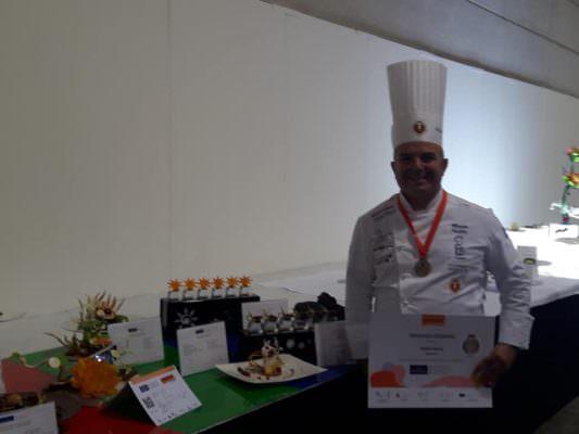 Il catanese Mario Failla sul podio del Campionato del mondo di pasticceria: altro successo per il Karol Wojtyla