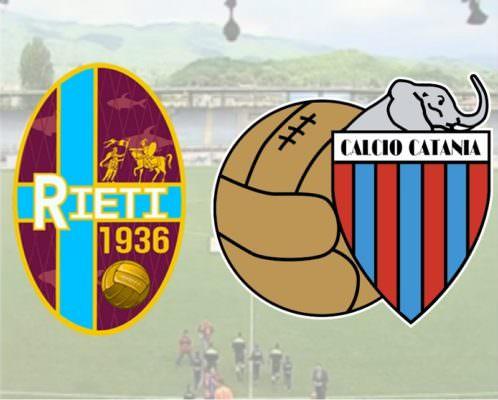 Rieti-Catania 0-1: è finita! Rossazzurri vittoriosi al Manlio Scopigno – RIVIVI LA CRONACA