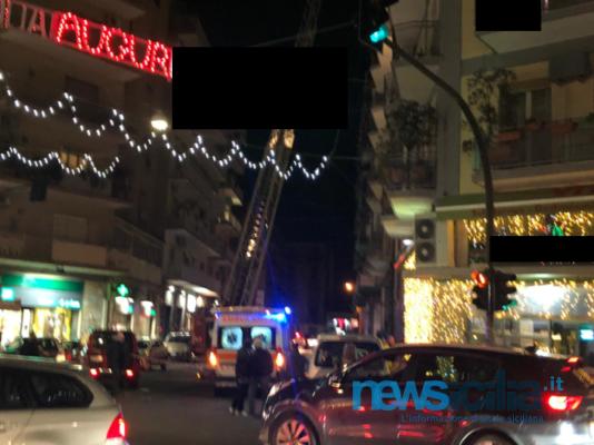 Catania, paura al viale Ionio: vigili del fuoco e 118 in azione – FOTO e VIDEO