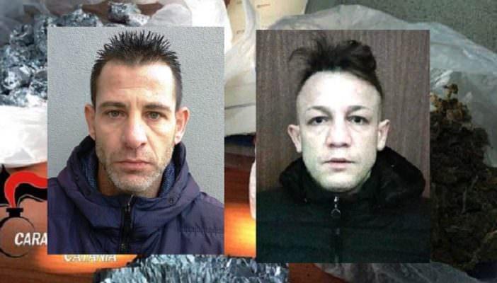 """Beccati in casa mentre """"confezionano"""" la droga: due arresti a Librino"""