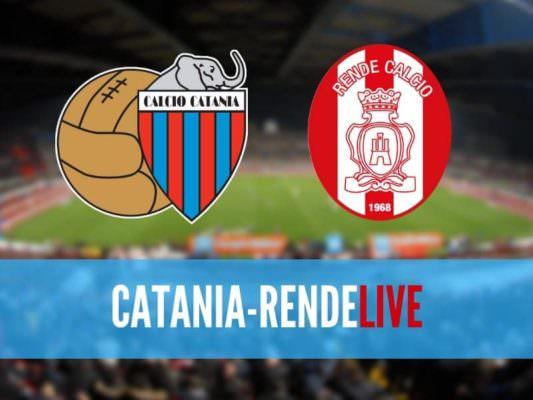 Catania-Rende 1-0: è finita! Rossazzurri chirurgici contro i calabresi – RIVIVI LA CRONACA