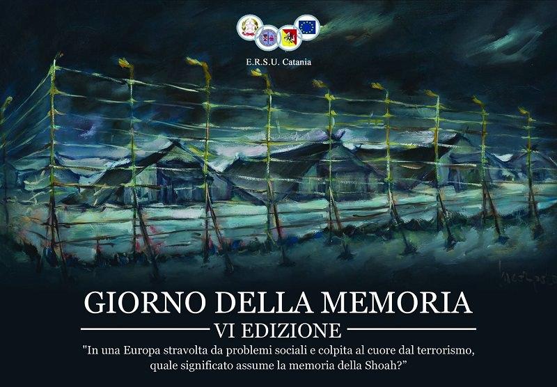"""""""Giorno della memoria"""", giunto alle sesta edizione il concorso organizzato dall'ERSU di Catania: i DETTAGLI per partecipare e i PREMI"""