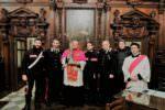 Reliquie di Sant'Agata in visita nei luoghi flagellati dal sisma dello scorso 26 dicembre: ricavato Pontificale agli sfollati
