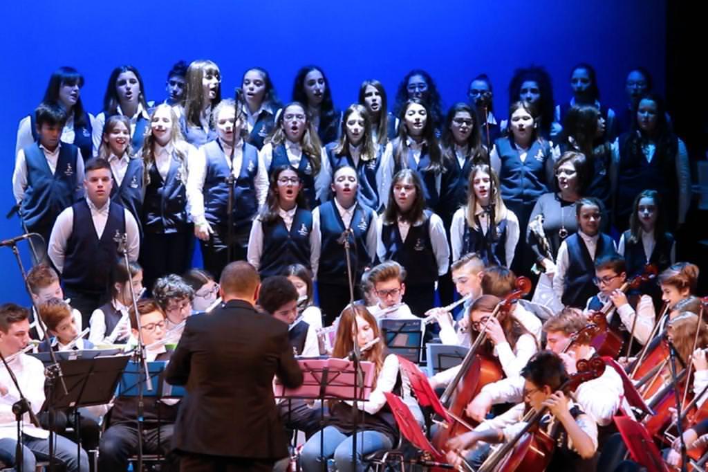 Natale in musica all'I. C. XX Settembre di Catania
