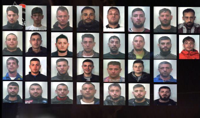 """Minorenni, mafia e droga: 37 arresti a Catania, FOTO e NOMI della """"Stella Cadente"""""""