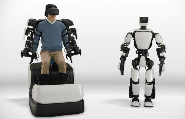T-HR3, il robot umanoide di Toyota che si controlla tramite rete 5G