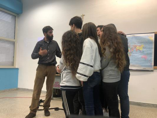 """Accoglienza e immigrazione, al """"Vaccarini"""" di Catania l'incontro con il soccorritore internazionale Montanari"""