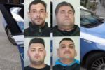 Possesso di droga e resistenza a pubblico ufficiale: quattro arresti nel Catanese