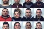 Operazione Sciarotta: NOMI e FOTO dei 12 arrestati nel Catanese per droga