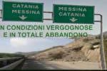 """""""Maxi protesta per l'autostrada A18"""", su Facebook monta la rabbia per le condizioni della Catania-Messina"""