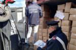 Sacchetti di plastica non a norma: maxi sequestro, indagato grossista