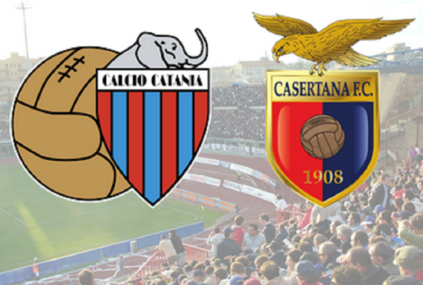 Catania-Casertana 3-0: è finita! I rossazzurri strapazzano i campani nella ripresa – RIVIVI LA CRONACA