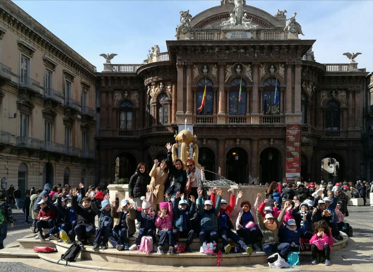 I bambini del Circolo Didattico Fava di Mascalucia alla scoperta della cultura siciliana