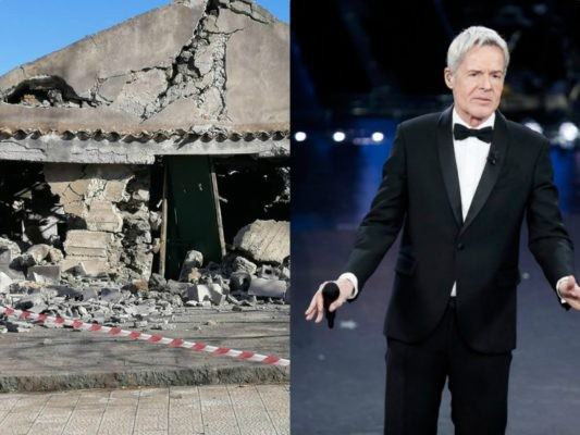 """""""Un minuto del Festival di Sanremo per i terremotati dell'Etna"""": l'appello degli sfollati a Claudio Baglioni"""