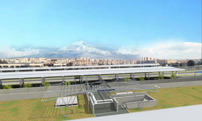 Catania, stazione Fontanarossa: si rispetta il crono programma, fine lavori entro l'autunno