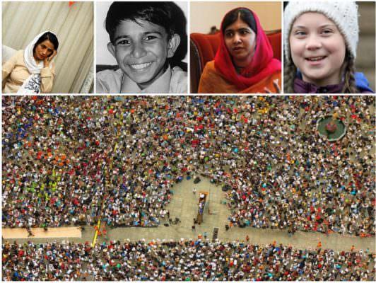 Uniti per i diritti: attivisti in piazza fanno tremare il potere