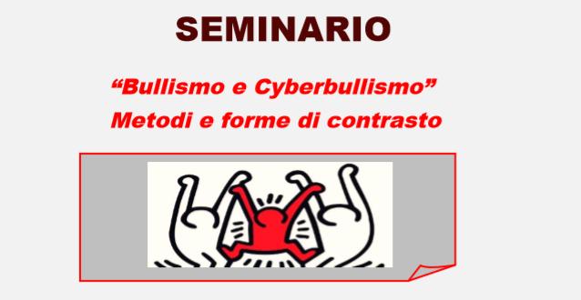 """Il circolo didattico Giuseppe Fava di Mascalucia organizza il seminario """"Bullismo e Cyberbullismo-metodi e forme di contrasto"""""""