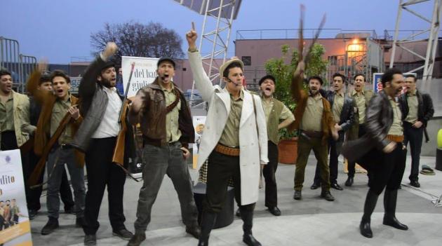 """Cresce l'attesa per lo spettacolo """"La vera storia del bandito Giuliano"""" con uno speciale flashmob"""