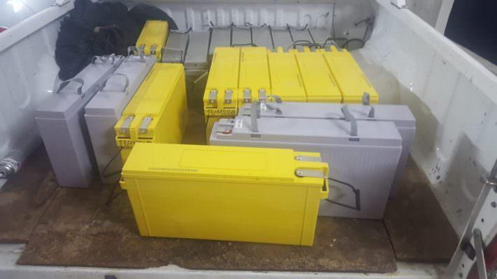 In viaggio verso Enna, colpo grosso alla Vodafone: rubate batterie per ripetitori