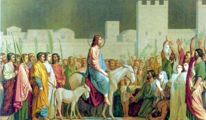 L'ingresso di Gesù a Gerusalemme, il significato delle Palme: la ...