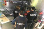 Attività commerciali nel mirino della polizia: sanzioni e chiusura dell'esercizio