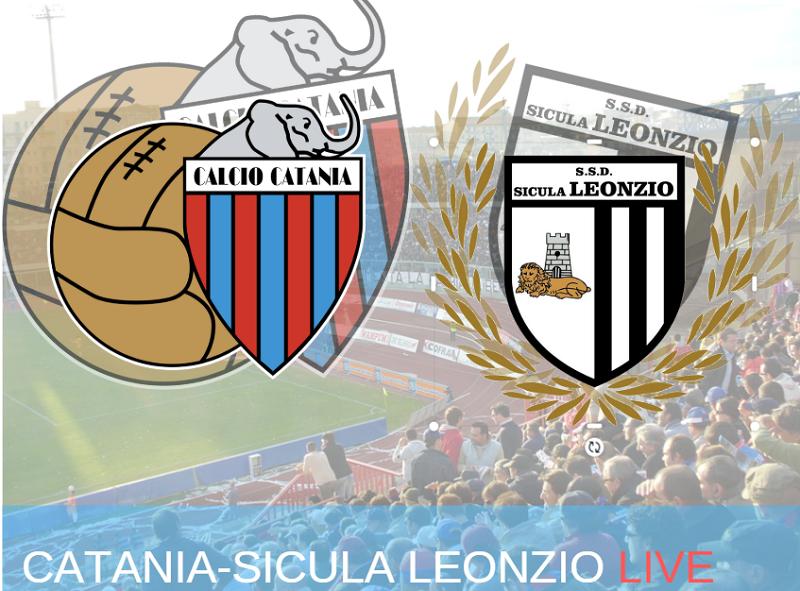 Catania-Sicula Leonzio 1-0: fine del match, rossazzurri vittoriosi di misura – RIVIVI LA CRONACA