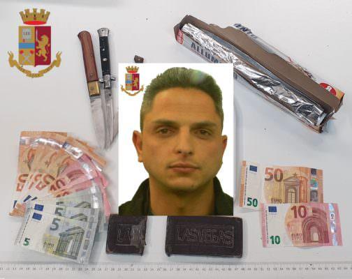 """Operazione """"Thor"""": arrestato due volte in 24 ore, spacciava hashish e nascondeva arma da guerra"""