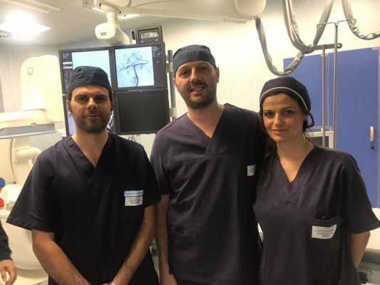 Catania, paziente colpito da ictus ischemico acuto in coma al Garibaldi: salvato dall'equipe di Neuroradiologia