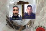 Fermati sulla SP49 con un chilo di droga in macchina: arrestati due pregiudicati