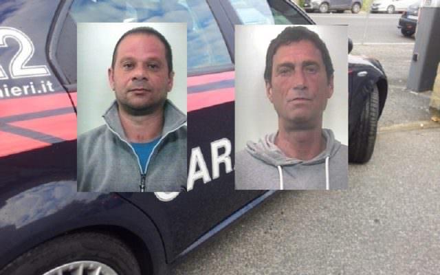 Droga e lista clienti: arrestati due uomini spaccio