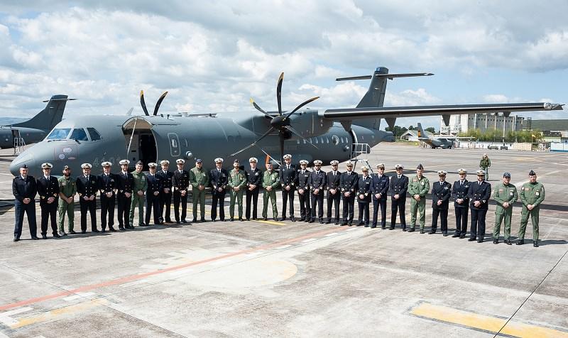 La Marina Militare di Augusta in visita al 41° Stormo di Sigonella: alla scoperta del velivolo P-72A