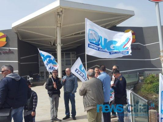 Distribuzione Cambria in concordato fallimentare e futuro lavoratori in dubbio: sit-in al Centro Sicilia
