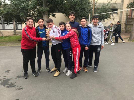 """Torneo di pallavolo all'I.I.S.S. """"C. Gemmellaro"""" di Catania"""