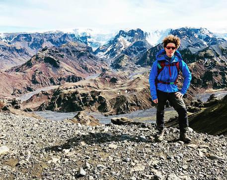 Da laureato in economia a glacier guide: la storia del palermitano Pietro D'Arca