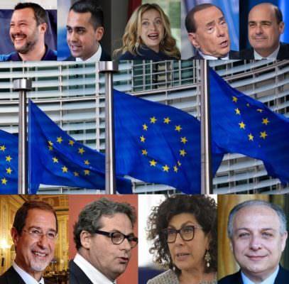 Vincitori e vinti in un'Europa che cambia e stimola i mutamenti politici dell'Italia e della Sicilia