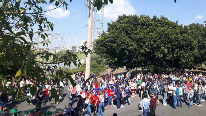 Strage di Capaci: studenti riuniti a Librino contro la mafia