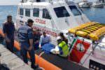 Colto da ictus sul traghetto Salerno-Catania: 59enne soccorso in mare e trasportato al Cannizzaro